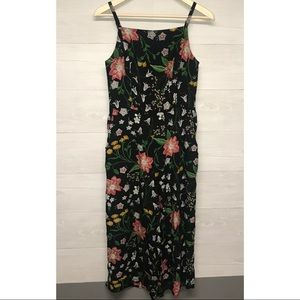 Old Navy | Floral Cami Jumpsuit W/ Pockets